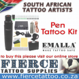 Rotary Pen Tattoo Kit - Emalla - Includes 15ml  Radiant ink, Health & Beauty For Sale, Hoedspruit, Limpopo