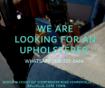 Permanent Skilled We are looking for an Upholsterer Wanted - General Jobs, General Jobs, Bellville, Western Cape