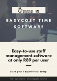 Easycost Time - Software Suppliers, Computers & Internet Services, Sandton, Gauteng