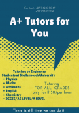 A+ Tutors For You Tutoring, Training & Education Services, Cape Town, Western Cape
