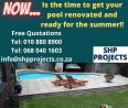 SHP Projects - Swimming Pool Contractors, Gardening & Pool Care Services, Krugersdorp, Gauteng