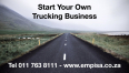 Permanent Be Your Own Boss, Become A Trucker, Get Your Free 5 Year Trucking Contract Worth R250 000, Transportation Jobs, Roodepoort, Gauteng