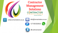 Contractor Management Solutions - Software Suppliers, Computers & Internet Services, Richards Bay, KwaZulu-Natal