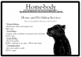 Home-body House & Pet Sitters, House & Pet Sitting Services, Oudtshoorn, Western Cape