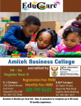 Amitek Business College - Business College, Other Services, East London, Eastern Cape