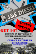J and E Diesels - J and E Diesels, Other Services, Pretoria North, Gauteng