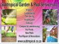 Subtropical Garden & Pool Services cc - Swimming Pool Contractors, Gardening & Pool Care Services, Fontainebleau, Gauteng