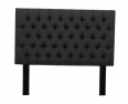 Buy Nadine Headboard – Queen/Double – Grey Covered Button – No Border - For Sale, Furniture & Household For Sale, Polokwane, Limpopo