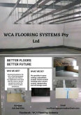 WCA Flooring Systems - Flooring, Other Services, Cape Town, Western Cape