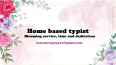 Home Based Typist - Admin and Typing, Other Services, Nelspruit, Mpumalanga
