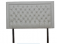 Buy Nadine Headboard – Queen/Double – White Snakeskin Covered Button - For Sale, Furniture & Household For Sale, Polokwane, Limpopo