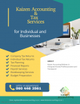 Kaizen Accounting - Accounting & Tax Services, Accounting & Tax Services, Pretoria East, Gauteng