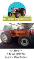 Fiat 680 DTH Tractor For Sale, Farm & Industry Equip For Sale, Bloemfontein, Free State
