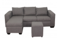 Buy Andre 3 Seater Sofa - L Shape - Grey   HG BAVA CC - For Sale, Furniture & Household For Sale, Polokwane, Limpopo